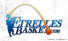 Creating the logo of basketball club from the city of Etrelles (France).