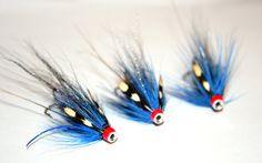 Tube Flies tied on half inch aluminium tubes. The pattern is the Stuart Foxall Pot bellied pig which has caught Salmon, Steelhead and Sea Trout