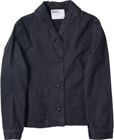 MARGARET HOWELL - MHL SHAWL COLLAR JACKET - VIEW ALL - WOMEN