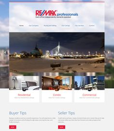Realestate Website Themes - Theme1