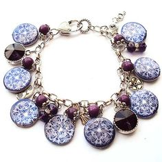 Tutorials   Charm Bracelet Etched Shell   Handmade Fashion Jewellery – Devoted to DIY Jewellery