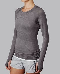 amazing shirt for outdoor runs, keeps warm but prevents moisture from staying on you. fab