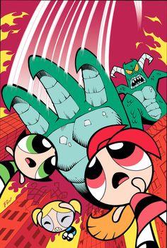 The Powerpuff Girls!