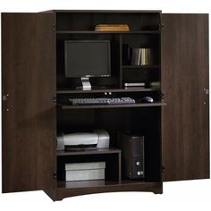 riverside american crossings computer armoire fawn cherry office displaced pinterest computer armoire armoires and jojo gaines