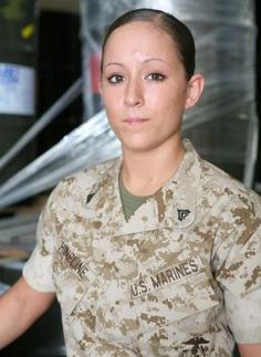 MY drill insturctor... One of the most intense female marines I've come across.