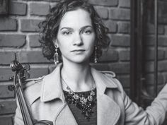 Violinist Hilary Hahn. Photo by Michael Patrick O'Leary