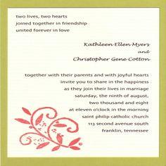 Muslim Wedding Cards Format Sasolo Annafora Co