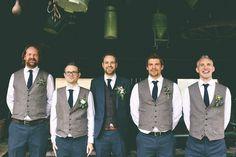 Groom Vests For Wedding Party Vests Slim Fit Mens Vests Custom Made Plus Size Gray British Style Bestman Team Groom Wear Business Suit Groomsmen Attire Navy, Bridesmaids And Groomsmen, Groomsmen Suspenders, Groom Vest, Groom Outfit, Groom Suits, Wedding Men, Wedding Attire, Wedding Ideas