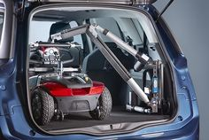 Image result for car hoist for electric wheelchair