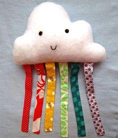 Hello, ReFabulous!: Happy Cloud Baby Toy Tutorial