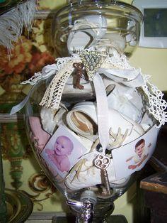 Ornate Splendor: Baby Memory Jar