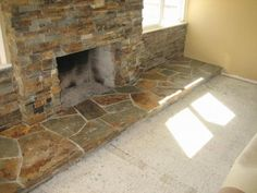 STONE VENEER for the fire place