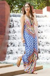 Casablanca Printed Maxi Dress- ABSOLUTELY LOVE THIS BOLD PRINT- I haven't seen any dress like this and it just shouts my name !!