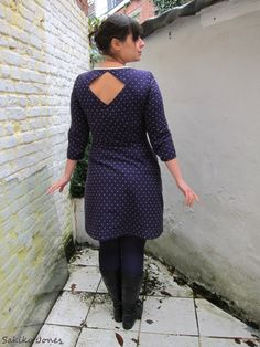 Belladone dress with sleeves added