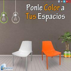 #polecoloratusespacios, especial de sillas de polipropileno. ¡Ven y visítanos! Contáctanos a los teléfonos 2440-1620