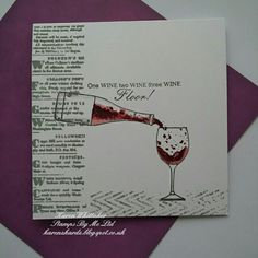 Life is too short to drink cheap wine lamination stamp by Stamps By Me  #stampsbyme #dtsample #wine #bottle #glass #newspapercuttings #chevrons #distressedpatterns #distressoxides #stamps #stamping #card #creative #craft #ilovetocraft #creativity