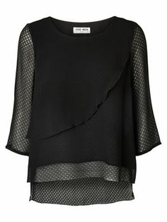 WP - DELICATE 3/4 SL TOP Holiday Countdown contest. Pin to win the style!