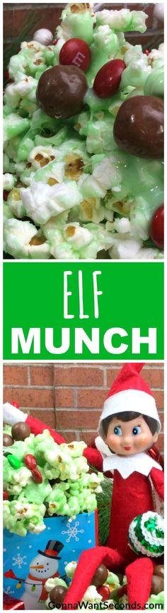 Elf Munch! The favorite snack inside Santa's workshop!