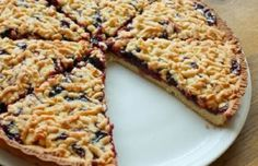 Vynikající recept na strouhaný koláč s marmeládou, je velice jednoduchý a chuť je báječná