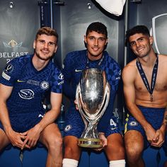 Uefa Super Cup, Christian Pulisic, Champions Of The World, Fa Cup, Uefa Champions League, Chelsea Fc, Good Morning, Besties, Blues