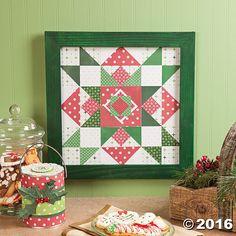 Paper Quilt Block Star Idea - OrientalTrading.com