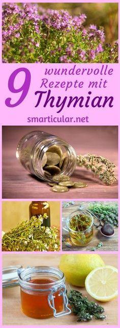 Du kennst den Thymian als Gewürz? Die vielseitige Pflanze ist dank ihrer ätherischen Öle aber auch heilsam bei Husten, keimtötend bei Pickeln und desinfizierend im Wischwasser!