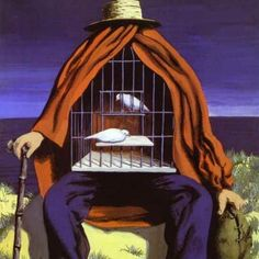 "René Magritte ""O terapeuta"", 1941. Surrealismo"