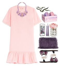 """""""29.06.16"""" by malenafashion27 ❤ liked on Polyvore featuring House of Holland, Vanessa Bruno Athé, Isabel Marant, LifeProof, Chantecaille and Ek Thongprasert"""