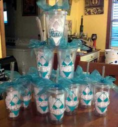 Bachelorette shower Party Favors