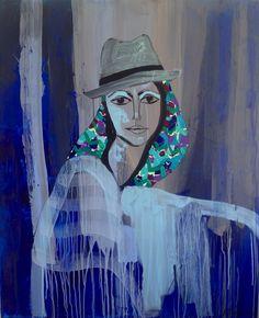 "Saatchi Online Artist: aga baranska; Acrylic, 2013, Painting ""Inka"""