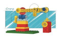 LEGO Models (9654) | 2002-crane