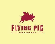 Logo Design - Flying Pig