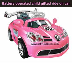 battery operated ride ons car: Ride on Toy Battery Operated ride on car