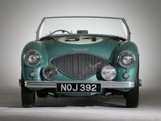 1953 Austin Healey 100 Special-Test-Car