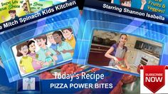 Check out the 1st Episode of The Mitch Spinach Kids Kitchen Cooking Show starring 12-year old chef expert Shannon Isabella!  Mitch Spinach Mini Pizza Power Bites! Delicious and so easy! https://youtu.be/Ib_PeEKFPx8
