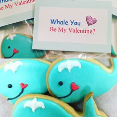 Whale you be my Valentine!