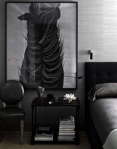 dark bedroom - dandy and gentlemen interior