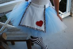 Alice in Wonderland Tutu for Teen to Adult by TutusByCheri on Etsy, $28.00