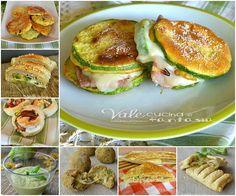 Raccolta di ricette con le zucchine facili e gustose polpettine,rustici,girelle di pizza tante idee per un buffet aperitivo antipasto