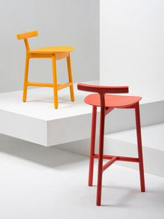 Radice Stool by Industrial Facility for Mattiazzi #Design #Furniture #MilanDesignWeek