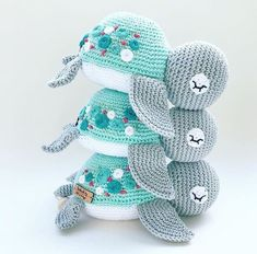 Newest Pictures amigurumi turtle Thoughts A introduction involving the Typical Miffy Amigurumi Crochet Kit and XL Miffy Amigurumi Crochet Kit saw Sewn & Story' Crochet Easter, Crochet Baby Toys, Crochet Patterns Amigurumi, Cute Crochet, Crochet Crafts, Crochet Dolls, Crochet Projects, Knitting Patterns, Knit Crochet