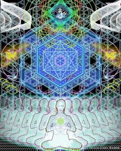 """""""There is only one of us.  One consciousness manifesting into different forms."""" ~ Ram Dass  www.mynzah.com"""