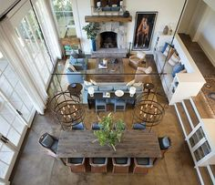 Dreamy remodel of a contemporary rural home in California wine country
