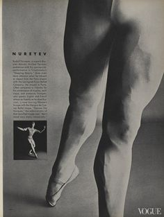 From the Archives: Ballet in Vogue - Vogue Daily - Fashion and Beauty News and Features Rudolf Nureyev Photographed by Irving Penn, Vogue, October 1961 Shall We Dance, Lets Dance, Rudolf Nurejew, Julien Clerc, Dance Magazine, Margot Fonteyn, Ballet Images, Male Ballet Dancers, Vogue Photo