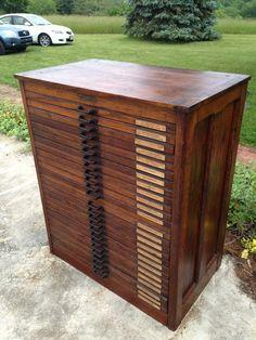 Antique Printers Letterpress Cabinet in Burleith - Hillandale, Washington, DC 20007, USA ~ Krrb