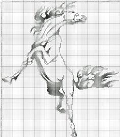 Cross Stitch Horse, Cross Stitch Animals, Cross Stitch Charts, Cross Stitch Designs, Cross Stitch Patterns, Simple Cross Stitch, Modern Cross Stitch, Blackwork Embroidery, Cross Stitch Embroidery