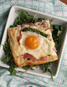 egg tart puff pastry plated