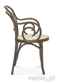 Wyplatane krzesło z opcją tapicerowania B-10/6659