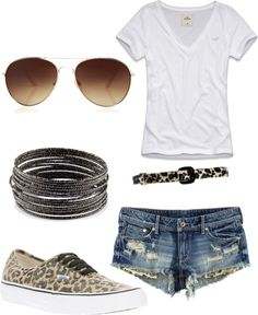 """Cheetahh"" by angel-larae on Polyvore"