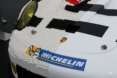 Half Of This Porsche Is Made Of Lego Bricks